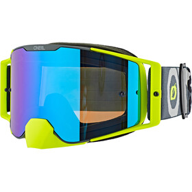 O'Neal B-30 Goggles, bold-gray/neon yellow-radium red